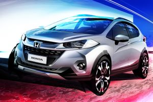 ホンダ「新型WR-V」=小型SUVのデザインスケッチを先行発表!11月初公開も南米限定か?