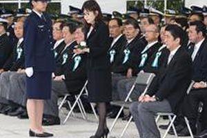 殉職自衛官追悼式、野党議員の参列は一人