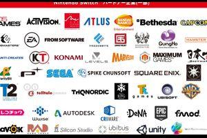 任天堂Switchのパートナー企業一覧wwwサードフル協力www