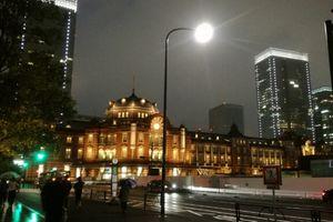 東京駅の赤レンガ風景