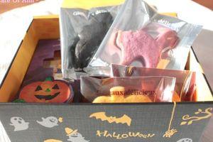 ハロウィンBOXに、クッキーを詰めて☆