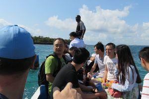 ダルエスから手軽に行けるリゾートアイランド'ボンゴヨ島':いよいよ島に上陸 (2016年9月28日)