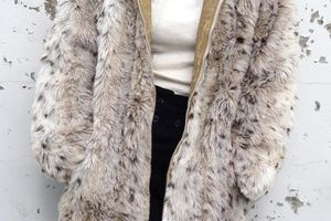 【1970's Fake Fur Coat】