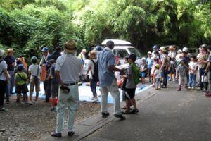 埼玉南部漁業協同組合が子供釣り教室を開催
