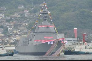 海上自衛隊の新型護衛艦「あさひ」進水 海外の反応