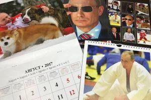 日本でプーチン大統領のカレンダ―が大人気に 海外の反応