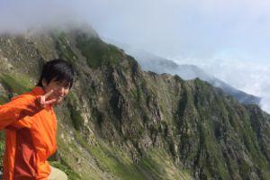 南アルプス縦走合宿(赤石岳~悪沢岳)