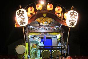 川越祭りに行ってきました♪