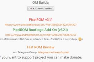 (修正)【ROM焼き】Nexus5XへAndroid7.1.1なPixelROMを焼いてみました。