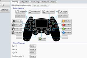 新型 PS4 コントローラー(デュアルショック 4)を PC で使えるように Input Mapper をインストールした時のメモ