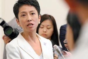 民進党、蓮舫氏にネットであだ名「脱法ハーフ」「のらりクラリオンガール」
