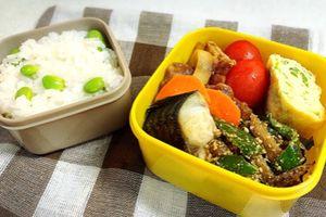 豚肉と玉ねぎの中華炒め弁当