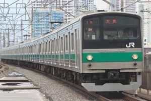 9月7日:埼京線205系、工臨返空