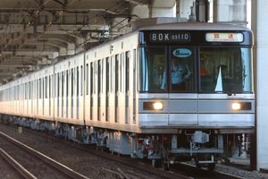 10月20日:日比谷線03系出場回送