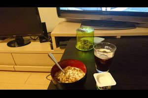 【画像あり】俺氏31歳底辺の朝食www