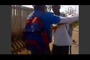 【衝撃映像】言い争いに発展した仲良し4人組に衝撃の結末が・・・
