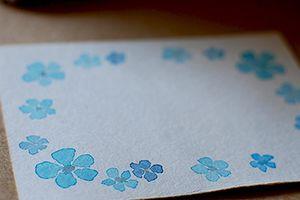 名刺・カード類のワンポイントイラスト