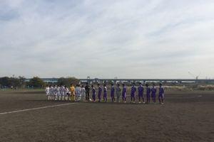 U-13リーグ戦。