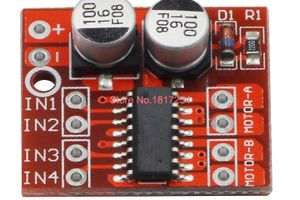 DCモータードライバーIC制御用のArduinoライブラリ