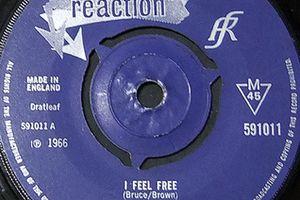 I feel freeとCream 1967-1970(the singles)