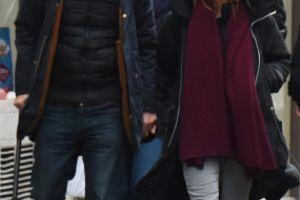 先週パリよりヴァネッサとリリーちゃん、サミュエル・ベンシェトリ氏、そして息子との最新画像♪