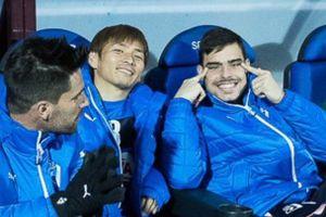 【画像】サッカースペインリーグで日本人のマネをするのが大流行