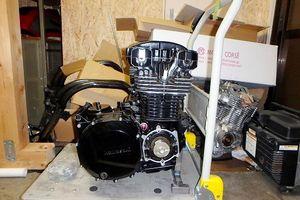 GPz1100エンジンコンプリートの完成