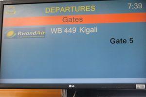 これがルワンダ航空だぁ!:ルワンダ紀行(2017年1月17日)