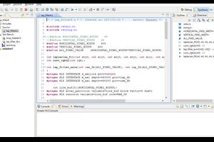AXI4-Stream向きのコードで書いたラプラシアンフィルタをVivado HLSでテスト1