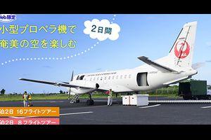 JALは、1泊2日で16フライトのWeb限定ツアーを販売!