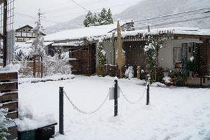 雪の営業日