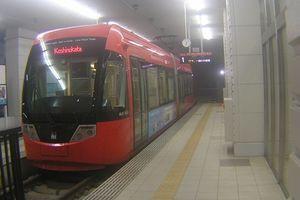 万葉線MLRV1000形電車