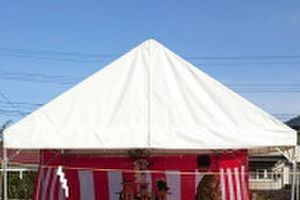「Hさんの家」地鎮祭