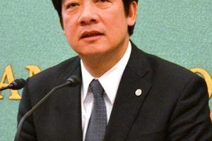「日本は特別な存在」 地震被害の台南市長が会見で感謝