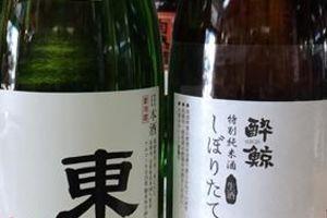 東光純米しぼりたて生原酒と酔鯨特別純米しぼりたて生入荷!