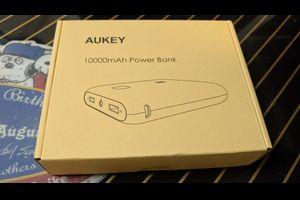 【商品提供】AUKEY モバイルバッテリー PB-N42 レビュー【動画追加】