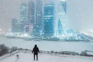 モスクワ冬景色