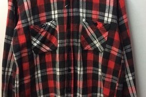 50s 60s PILGRIM Flannel Shirt