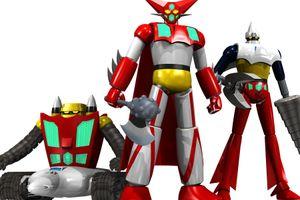 Shadeでスーパーロボットを作ってみる ゲッターロボ