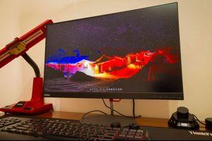 【モニター】Lenovo 『ThinkVision X24q-10』 画像など