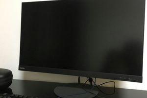 【モニター】Lenovo 『ThinkVision X27q』 画像など