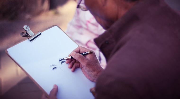 同人描きとかで絵が上手い人って実際に会ったらどんな感じなの?