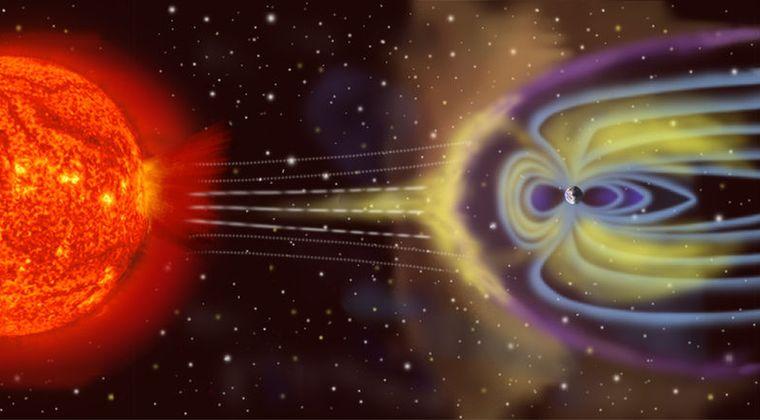 【ヤバイ】太陽から「惑星間空間衝撃波」が地球に到来中!地球の磁場が乱れて「磁気嵐」が起こる可能性