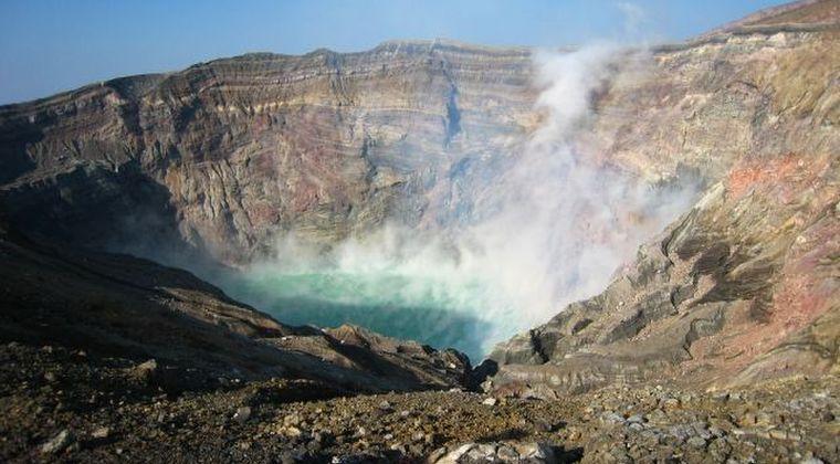 【九州】阿蘇山で連続噴火が継続している模様