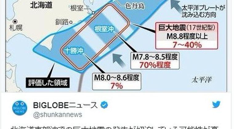 【M9地震】北方領土の色丹島で「巨大地震の痕跡」を発見!「切迫性が高い」千島海溝沿い超巨大地震の周期などを調査