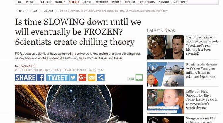 【宇宙】物理学者「宇宙はいずれ完全に静止する」