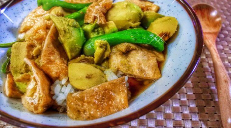 チャチャッと簡単♪「アボカドのさっと煮飯」作り方・レシピ