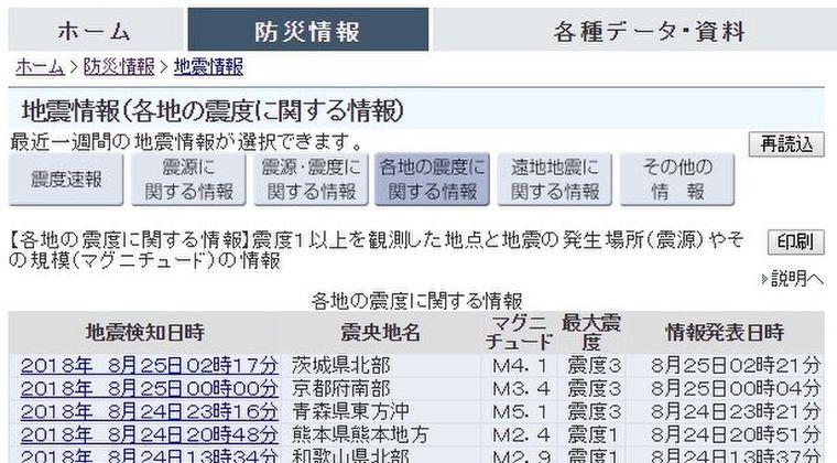 【満月】青森、京都、茨城で「震度3」の地震が発生…日本各地で揺れる