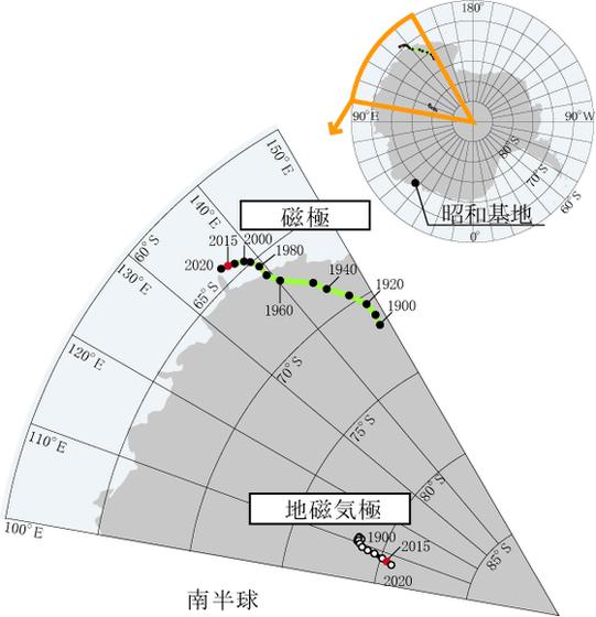 【ポールシフト】地球の「磁場」の動きが活発化、急速に変化している模様…研究者「原因不明」
