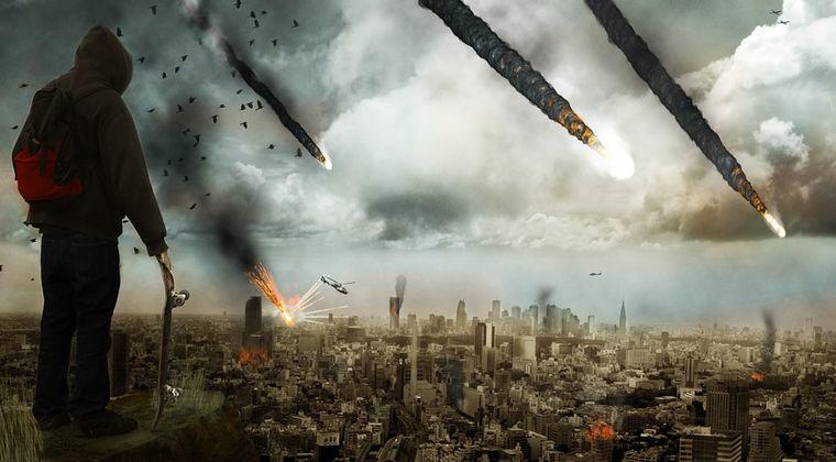 【終焉】小惑星や隕石を爆破して地球衝突を回避するのは無理だった…破片が集結して結局、降り注ぐらしい